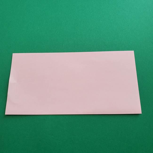 折り紙の花ダリア(12枚)の折り方作り方①折り筋(2)