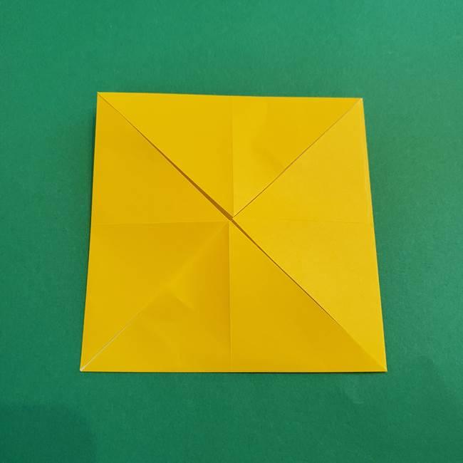 折り紙の花火 12枚でつくる意外と簡単な作り方折り方①パーツ(6)