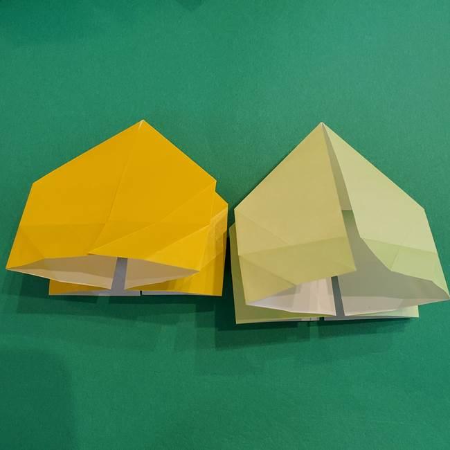 折り紙の花火 12枚でつくる意外と簡単な作り方折り方②組み立て(1)