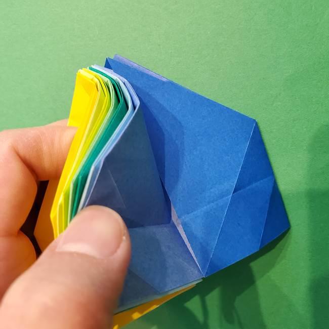 折り紙の花火 12枚でつくる意外と簡単な作り方折り方②組み立て(11)