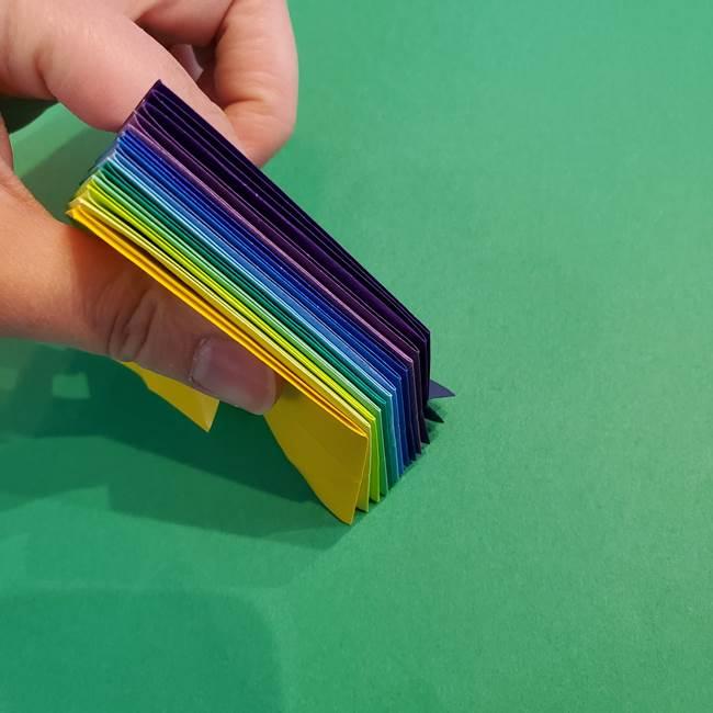 折り紙の花火 12枚でつくる意外と簡単な作り方折り方②組み立て(12)
