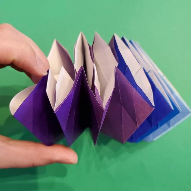 折り紙の花火 12枚でつくる意外と簡単な作り方折り方②組み立て(13)