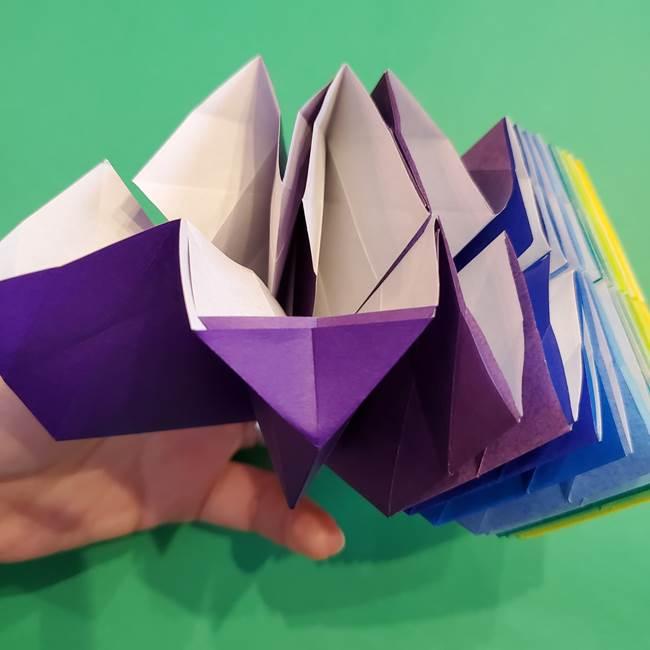 折り紙の花火 12枚でつくる意外と簡単な作り方折り方②組み立て(14)