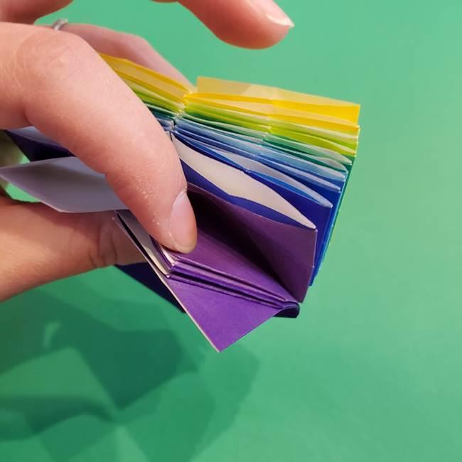 折り紙の花火 12枚でつくる意外と簡単な作り方折り方②組み立て(17)