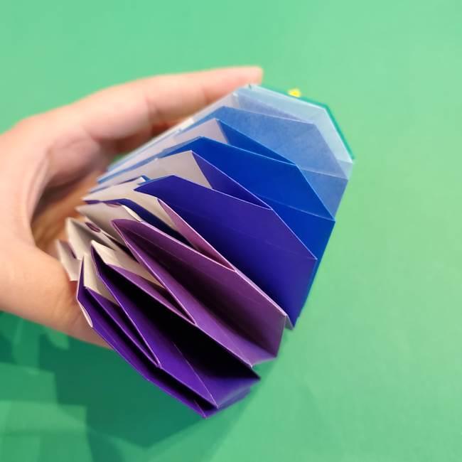 折り紙の花火 12枚でつくる意外と簡単な作り方折り方②組み立て(18)