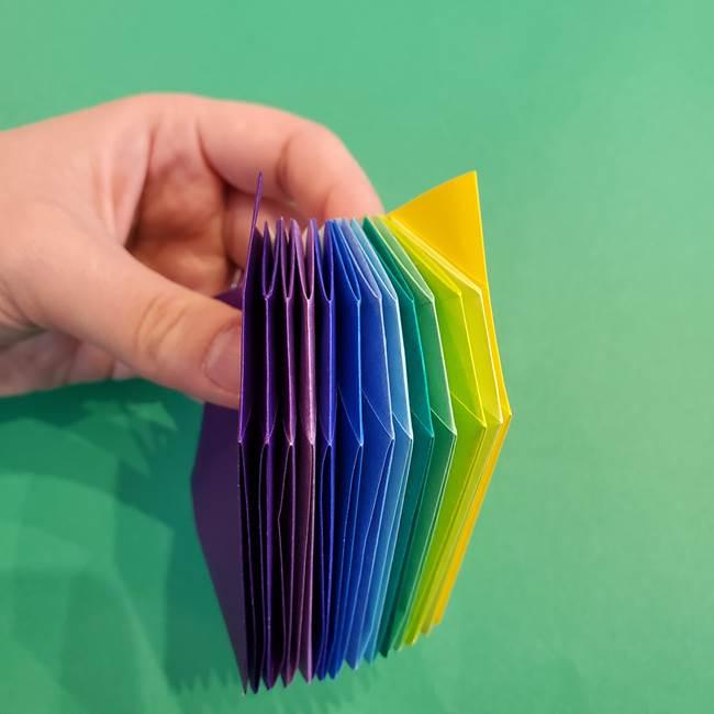 折り紙の花火 12枚でつくる意外と簡単な作り方折り方②組み立て(19)