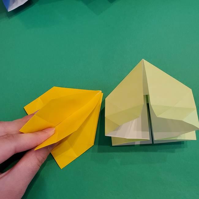 折り紙の花火 12枚でつくる意外と簡単な作り方折り方②組み立て(2)