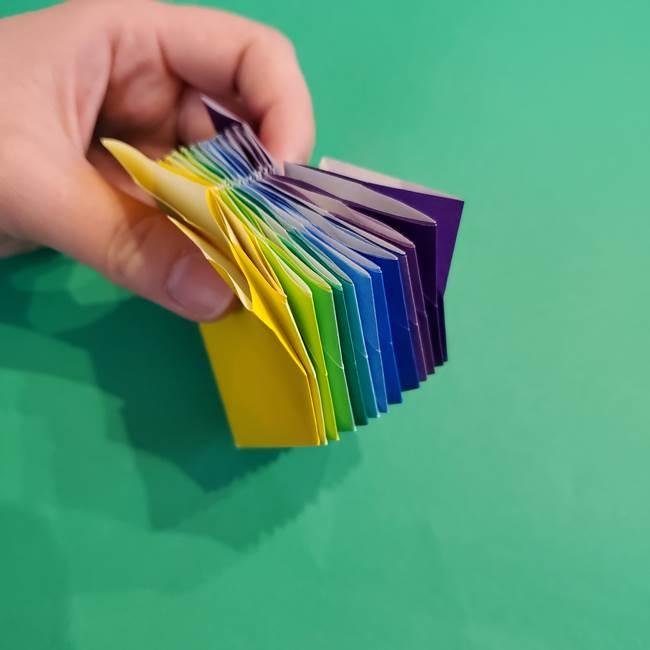 折り紙の花火 12枚でつくる意外と簡単な作り方折り方②組み立て(20)