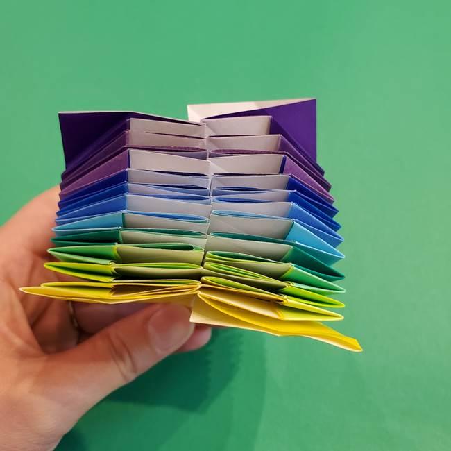 折り紙の花火 12枚でつくる意外と簡単な作り方折り方②組み立て(21)