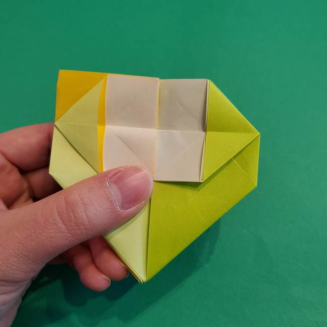 折り紙の花火 12枚でつくる意外と簡単な作り方折り方②組み立て(23)
