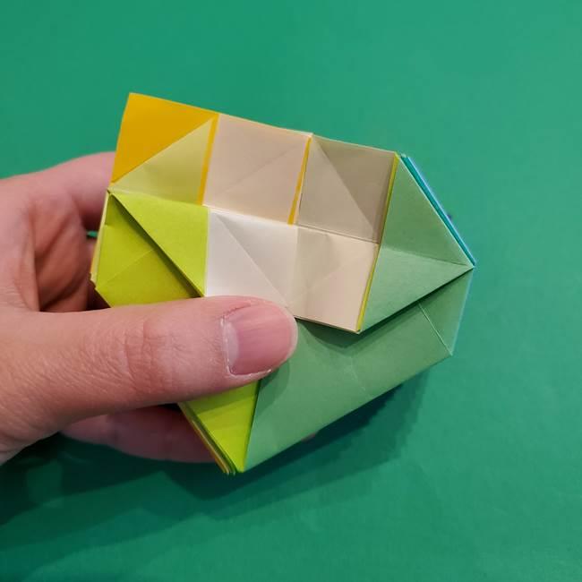 折り紙の花火 12枚でつくる意外と簡単な作り方折り方②組み立て(25)