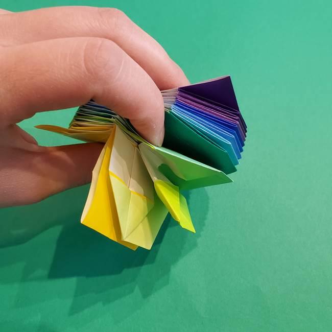 折り紙の花火 12枚でつくる意外と簡単な作り方折り方②組み立て(26)