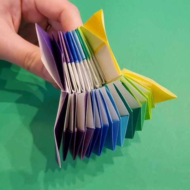 折り紙の花火 12枚でつくる意外と簡単な作り方折り方②組み立て(28)