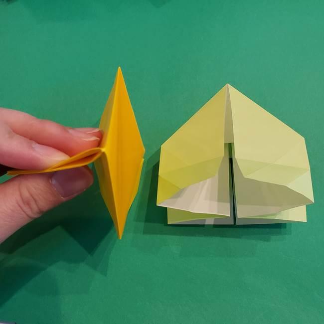 折り紙の花火 12枚でつくる意外と簡単な作り方折り方②組み立て(3)