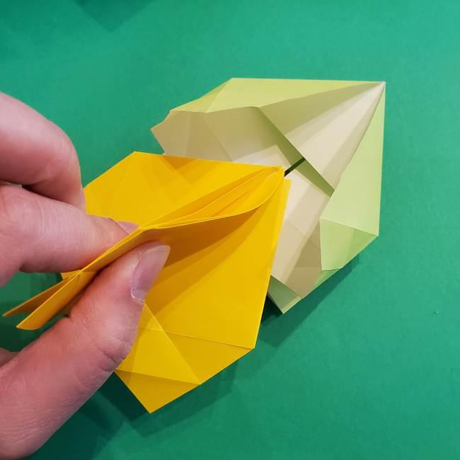折り紙の花火 12枚でつくる意外と簡単な作り方折り方②組み立て(5)