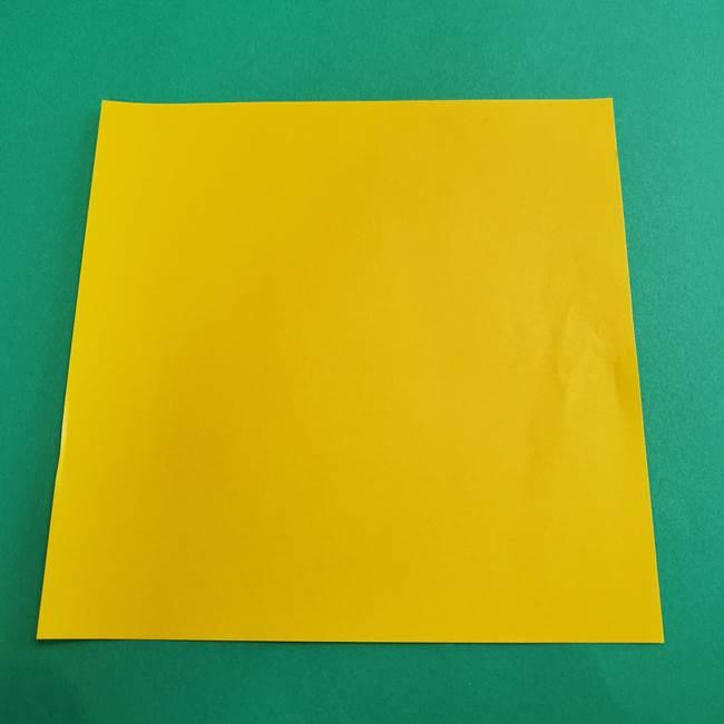 折り紙の花火 8枚でつくる簡単な折り方作り方①パーツ(1)