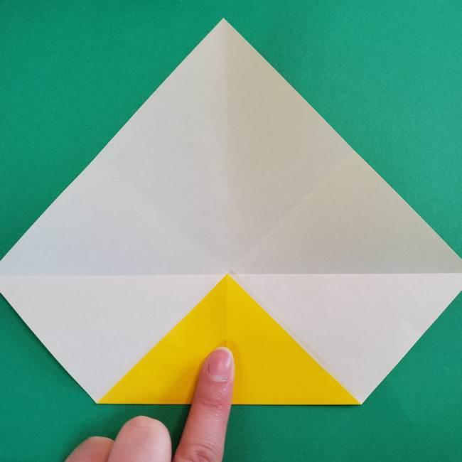 折り紙の花火 8枚でつくる簡単な折り方作り方①パーツ(10)