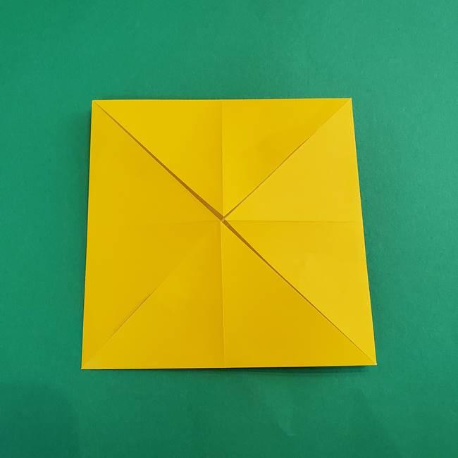 折り紙の花火 8枚でつくる簡単な折り方作り方①パーツ(11)