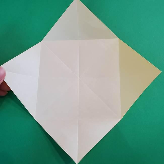 折り紙の花火 8枚でつくる簡単な折り方作り方①パーツ(12)
