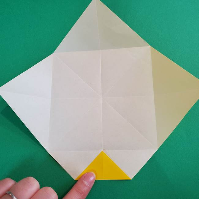 折り紙の花火 8枚でつくる簡単な折り方作り方①パーツ(13)