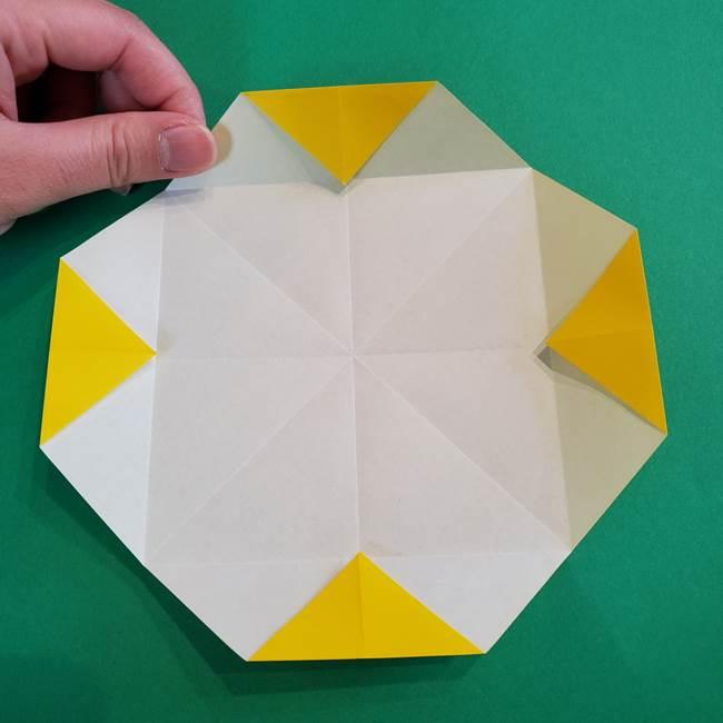 折り紙の花火 8枚でつくる簡単な折り方作り方①パーツ(14)
