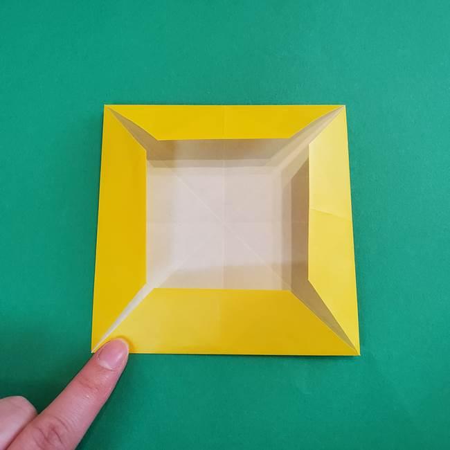 折り紙の花火 8枚でつくる簡単な折り方作り方①パーツ(15)