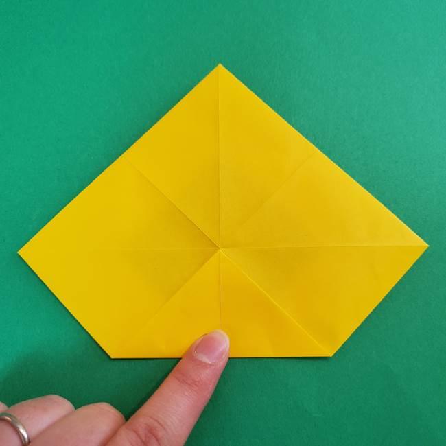 折り紙の花火 8枚でつくる簡単な折り方作り方①パーツ(17)