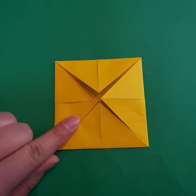 折り紙の花火 8枚でつくる簡単な折り方作り方①パーツ(18)