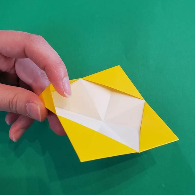 折り紙の花火 8枚でつくる簡単な折り方作り方①パーツ(20)