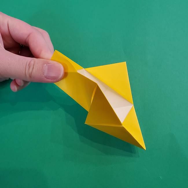 折り紙の花火 8枚でつくる簡単な折り方作り方①パーツ(21)