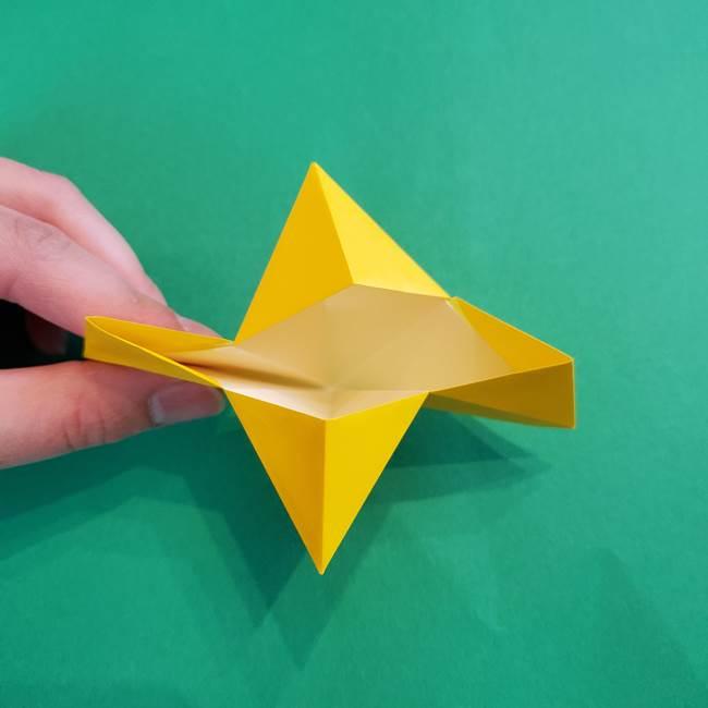 折り紙の花火 8枚でつくる簡単な折り方作り方①パーツ(23)