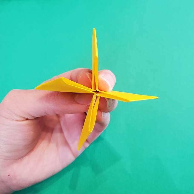 折り紙の花火 8枚でつくる簡単な折り方作り方①パーツ(24)