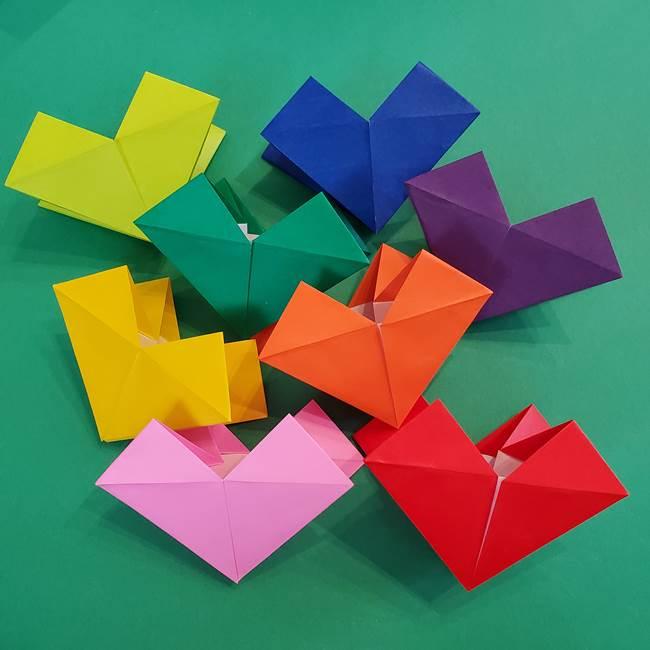折り紙の花火 8枚でつくる簡単な折り方作り方①パーツ(26)