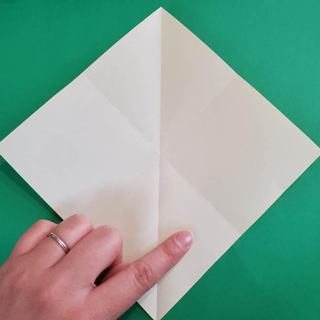 折り紙の花火 8枚でつくる簡単な折り方作り方①パーツ(7)