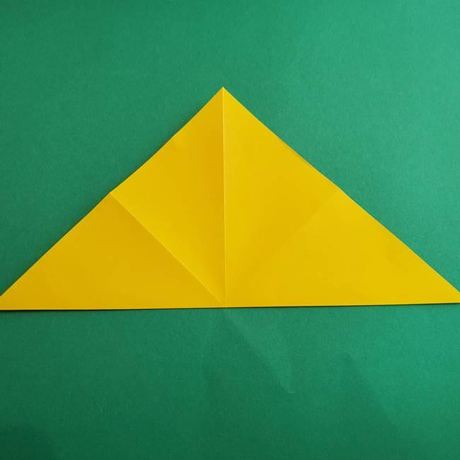 折り紙の花火 8枚でつくる簡単な折り方作り方①パーツ(8)