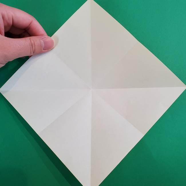 折り紙の花火 8枚でつくる簡単な折り方作り方①パーツ(9)