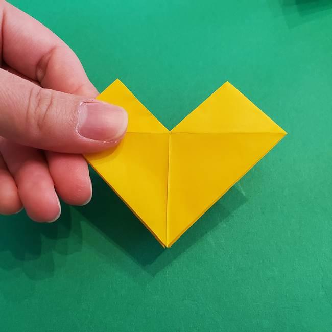 折り紙の花火 8枚でつくる簡単な折り方作り方②組み立て(1)