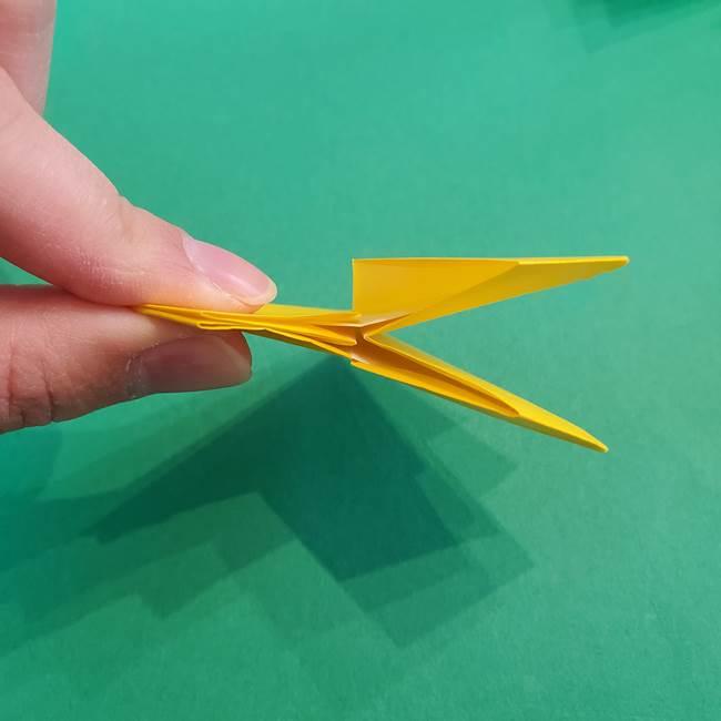 折り紙の花火 8枚でつくる簡単な折り方作り方②組み立て(2)