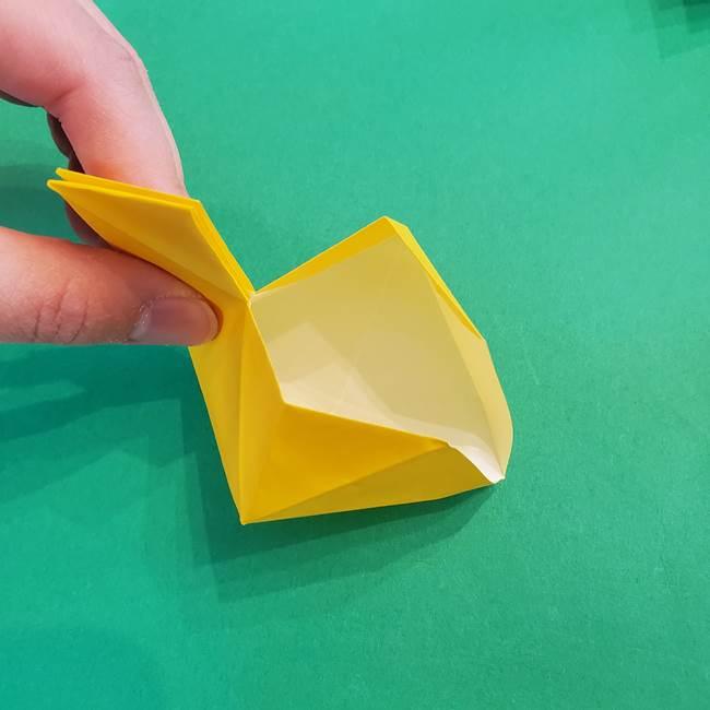 折り紙の花火 8枚でつくる簡単な折り方作り方②組み立て(4)