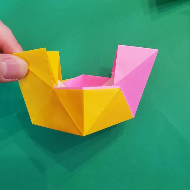 折り紙の花火 8枚でつくる簡単な折り方作り方②組み立て(7)