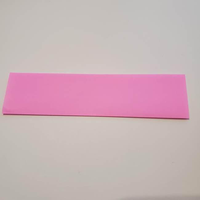 折り紙の蓮(ハス)の花☆立体的な作り方折り方①花(2)