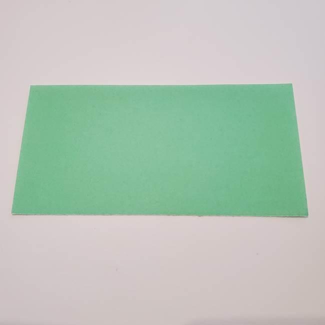 折り紙の蓮(ハス)の花☆立体的な作り方折り方②葉(1)