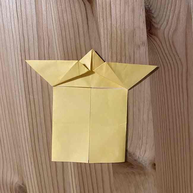 折り紙 コリラックマの折り方作り方 (11)