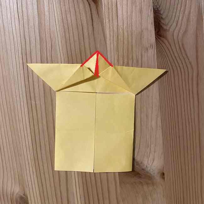 折り紙 コリラックマの折り方作り方 (12)