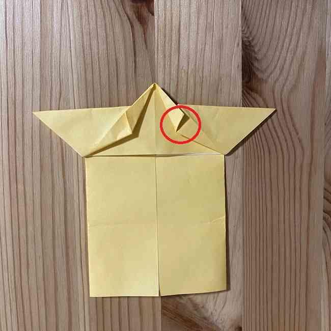 折り紙 コリラックマの折り方作り方 (14)