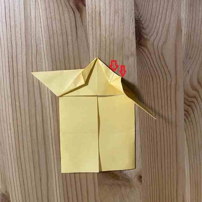折り紙 コリラックマの折り方作り方 (15)