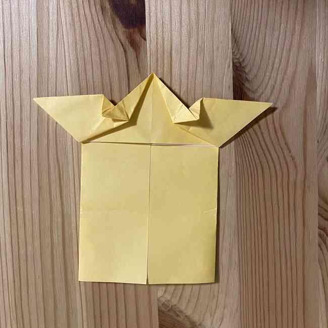 折り紙 コリラックマの折り方作り方 (18)
