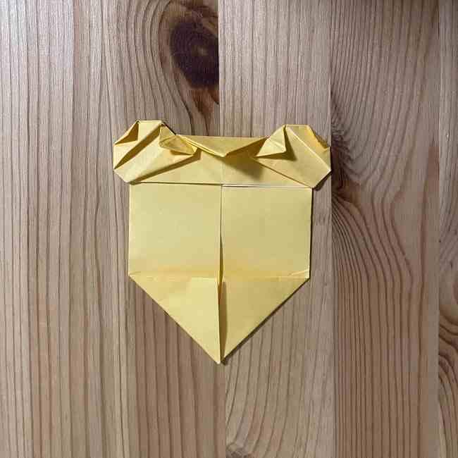 折り紙 コリラックマの折り方作り方 (21)