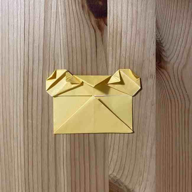 折り紙 コリラックマの折り方作り方 (22)