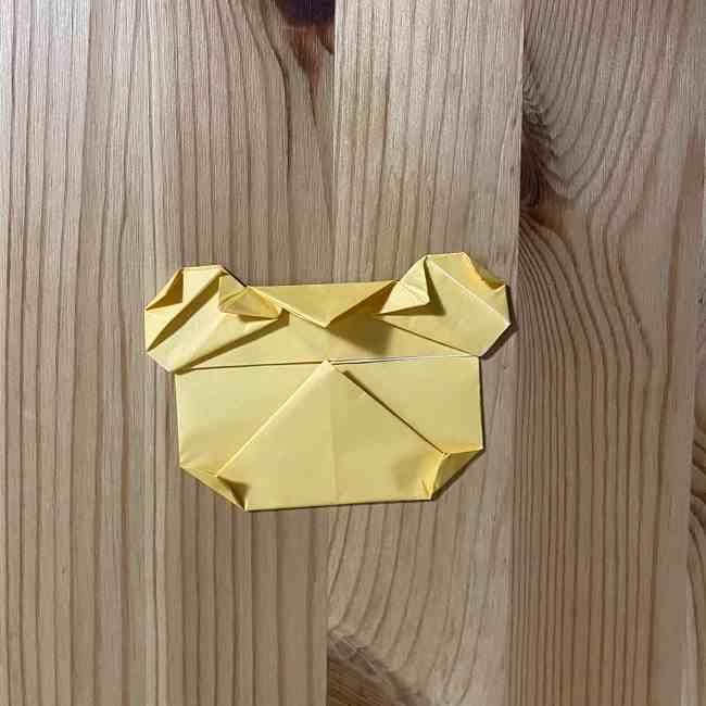 折り紙 コリラックマの折り方作り方 (23)